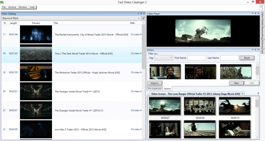 View your videos - better, faster and more efficiently