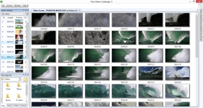 Screenshot - the easy way to organize video files