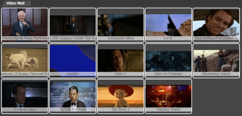 Is the new Fast video cataloger feature the fastest way to browse video thumbnails?