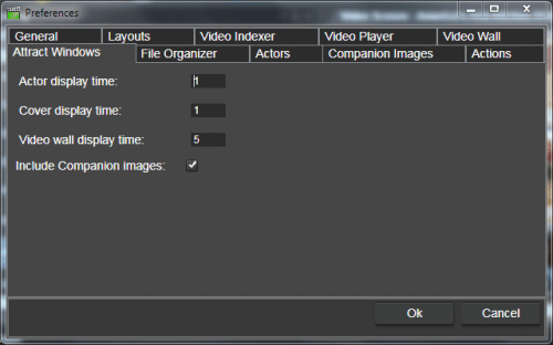 Note the check box to show companion images and not only covers in the attract cover window.