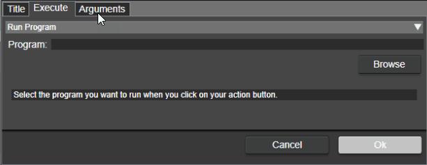 Edit the Execute tab