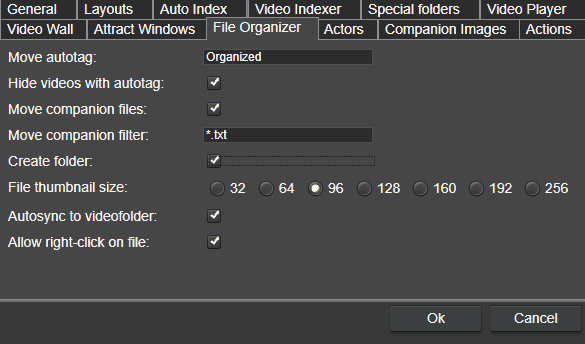 File Organizer Preference